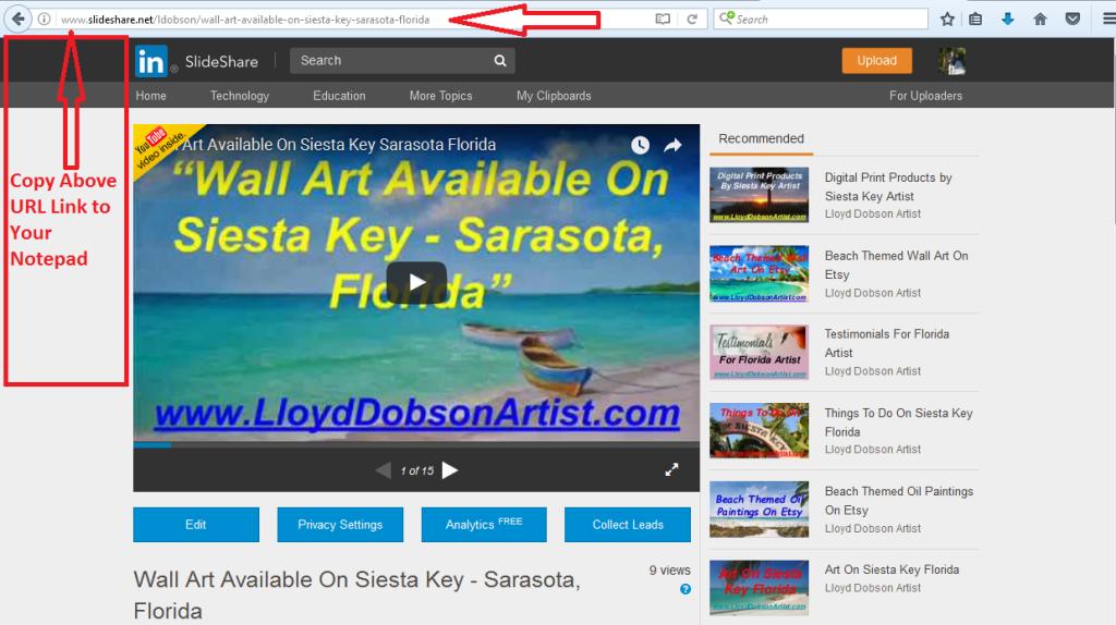1 - SlideShare URL Image